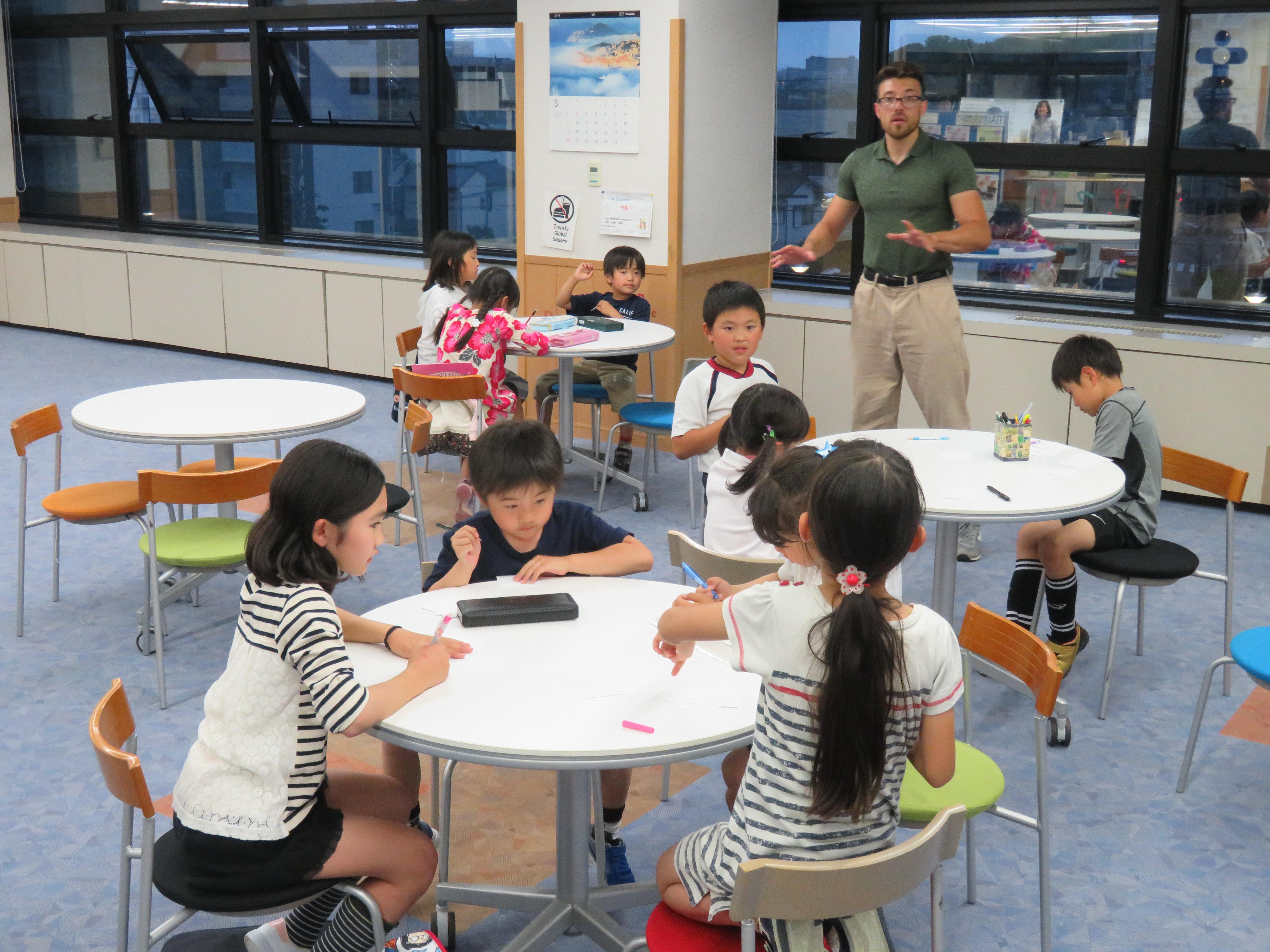 子どものための英語保持教室