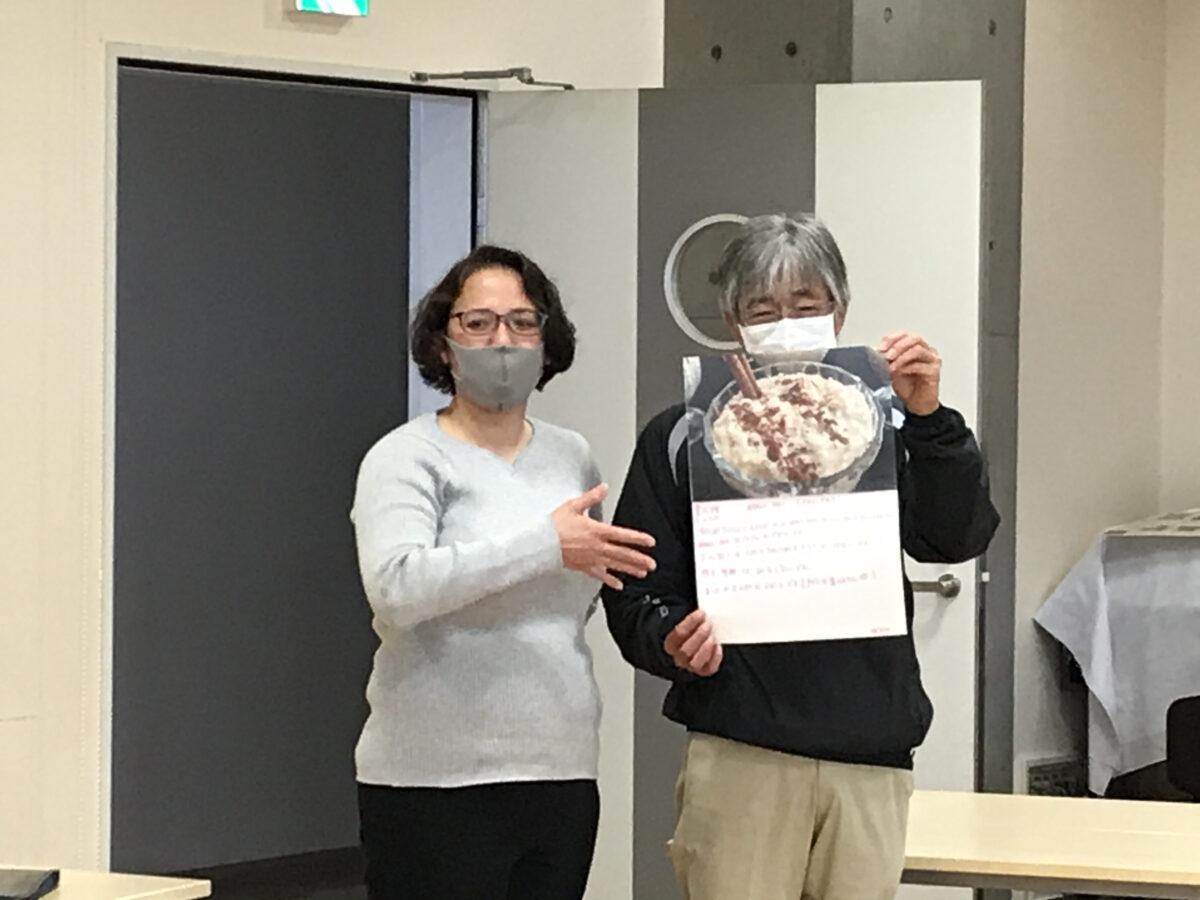 """日语教室""""与您相连""""这一期的最后一次课:进行了成果发表会。下次课预定在5月15日~7月17日期间开课。"""