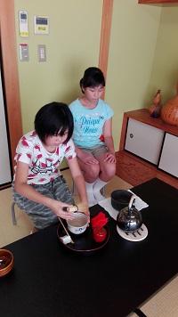OCHAKKO Tea Ceremony Class by Volunteer Group at Asahigaoka Community Center