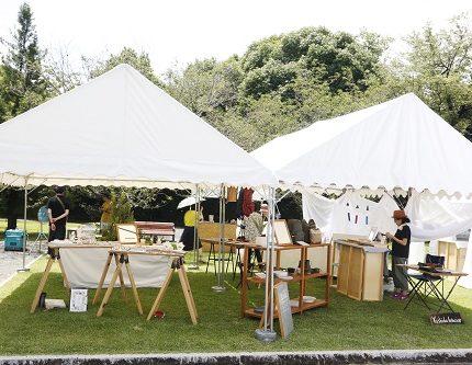 Museum Market in Spring